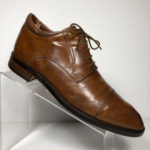 Johnston & Murphy Cillini Brown Oxford Size 11.5 M